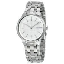 DKNY Park Slope Silver Dial Stainless Steel Ladies Watch NY2381