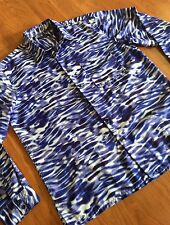 Kenneth Cole NY Abstract Print OP ART Dress Shirt Sz XL Button Down Disco Party