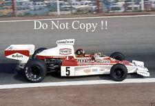 Emerson Fittipaldi McLaren M23 Spanish Grand Prix 1974 Photograph 3