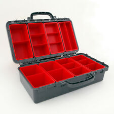 Exactapak MultiBox Storage Case with Clear Lids. #MULTI-10
