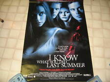 I KNOW WHAT YOU DID LAST SUMMER POSTER HEWITT GELLAR PHILLIPPE FREDDIE GALECKI