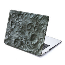 GMYLE Hard Case Print Frosted for MacBook Air 13 - Black Lunar Pattern
