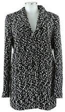 Jil Sander Long Jacke 40 Kurzmantel jacket coat  schwarz weiß Wolle wie neu