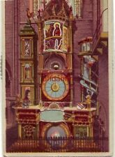 THE ASTRONOMICAL CLOCK OF STRASSBURG IN ALSACE  a moving perpetual calendar