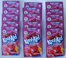 15 packets of KOOL-AID drink mix: BLACK CHERRY flavor, powdered, UNSWEETENED