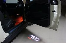 2 LED Logo Light Shadow Projector Car Door Courtesy Audi A4 A6 A8 Q5 Q7 TT