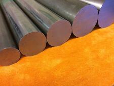 Black Mild Steel - Round Bar - 130mm Dia x 50mm Long - 1 piece - New Stock