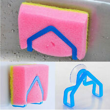 New Kitchen Suction Cup Sponge Holder Washing Sink Tub Cleaning Spong Dish Cloth