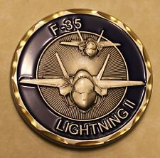 F-35 Lightning II Air Force Challenge Coin