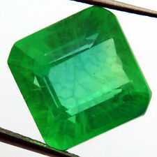 EMERALD CHATHUM 16.75 ct MARVELOUS COLOMBIAN GREEN LOOSE SQUARE
