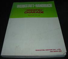 Werkstatthandbuch Daihatsu Charade G100 / 102 Motor Typ HC 02/1989 Grundhandbuch
