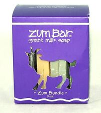 Zum Soap Bar Bundle Boxed Gift Set Indigo Wild NEW natural sample organic clean