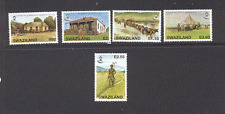 Swaziland 2006 Postal History/Ox-wagon/Post Office/Buildings 5v set (n16462)