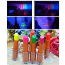 Face and Body Bright Fluorescent Stargazer UV Glow NEON Lipstick Night Party Lip