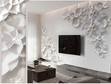 3D Wallpaper Bedroom Mural Roll Modern Luxury Embossed flowers Background B273