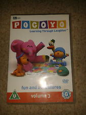Pocoyo - Vol. 3 - Fun And Adventures (DVD, 2007) Volume Three
