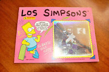 ALBUM DE CROMOS THE SIMPSONS ROSA. PANINI. [AÑOS 90]. LOS SIMPSONS.