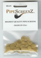 """(3/8"""") 100+ Count BRASS Pipe Screens 0.375"""" (9.525 mm) Made in USA!"""