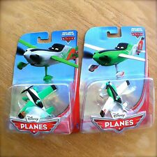Disney Planes NED & ZED PREMIUM diecast Above The World of Cars lot Rip henchmen