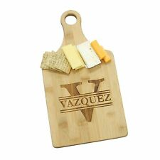 Personalized Bamboo Cheese Cutting Board