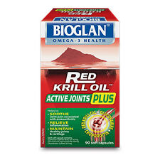 Bioglan Red Krill Oil Active Joints Plus 90s with Glucosamine and Chondroitin