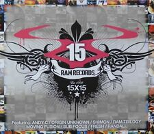 15X15 RAM RECORDS = Origin Unknown/Andy C/Shimon/Ram Trilogy...= Drum & Bass !!