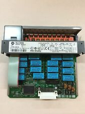 USED ALLEN-BRADLEY SLC 500 OUTPUT MODULE 1746-OW16 SERIES C