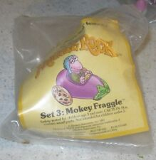 1987 Fraggle Rock McDonalds Happy Meal Toy - Mokey in Eggplant Car