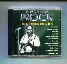 MUDDY WATERS PARIS 1972 # Il Grande Rock De Agostini # CD Rock 2001