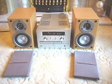 Quality Marantz Hi-Fi System CD-MP3/AM-FM/DAB Radio with Sony Speakers