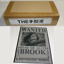 [USED] Ori Art The Wanted Poster 10 Brook One Piece Toy BANDAI Japan