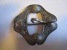Vintage Or Antique Silver Floral Pin, Brooch, Unmarked