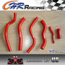 Honda CR125 CR125R CR 125 R 90 91 92 93-97 94 95 96 1997 1990 radiator hose RED