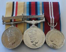 Iraq Op Telic, Afghanistan, Diamond Jubilee, Mounted Medals, Full Size, Clasps