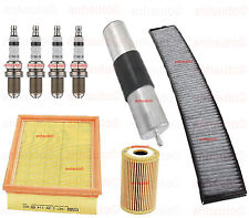 BMW E46 2001 318ci M43 Tune Up KIT Cabin Air Oil FILTERS  Spark Plugs