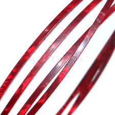 5 feet Guitar Red Pearl Celluloid Binding Purfling Strip 1650x2x1mm