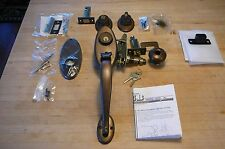 Schlage E Series Handleset With Dead Bolt  New old stock