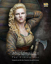 Nuts Planet, Shield Maiden, 1/10th scale unpainted resin bust kit, NIB