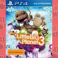 Little Big Planet 3  - PlayStation 4 game - BRAND NEW
