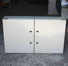 BOX by ELSTEEL 2 DOOR Cabinet Enclosure Electrical control 100 X 60 X 20 CM