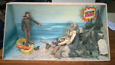 "Palitoy England ACTION MAN 12"" Figure TOY SHOP DEEP SEA DISPLAY MIB`74 VERY RARE"