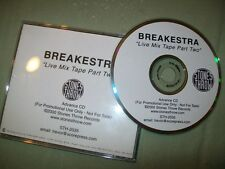 Breakestra           PROMO CD             Live Mixtape Part Two