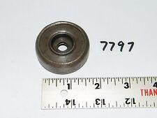 """Vintage Steel Roller Skate Wheel 1 7/8"""" Tall x 21/32"""" Wide"""