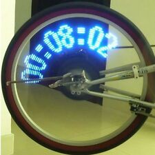 14 LED 40 Design Patterns Bike Bicycle Wheel Spoke Light USA SELLER