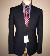 Hardy amies savile row london luxe costume bnwt brinsley slim carreaux 38x32