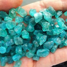 85g  Blue Green Apatite Crystal Stone Natural Rough Mineral Specimen