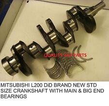 mitsubishi L200 Motore 4D56 2.5 DiD 06+ ALBERO A GOMITI CON CUSCINETTI STD NUOVO