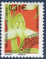 Orchidée à fleurs vertes - Platanthera chlorantha - 2007 - YT PO 250 - Neuf **