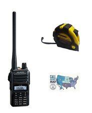 Yaesu FT-65R VHF/UHF 5W Handheld Transceiver with FREE Radiowavz Antenna Tape!