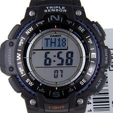 Casio Bussola Altimetro Barometro Termometro sgw-1000-1aer World Times GRATIS P + P